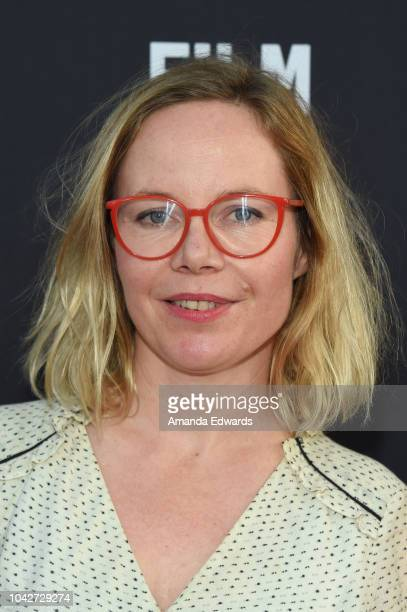 """Katrine Sahlstrom attends the Closing Night Screening of """"Nomis"""" during the 2018 LA Film Festival at ArcLight Cinerama Dome on September 28, 2018 in..."""