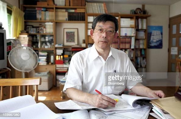 Katsuhiko Ishibashi Professor Emeritus At Kobe University Poses For News Photo Getty Images