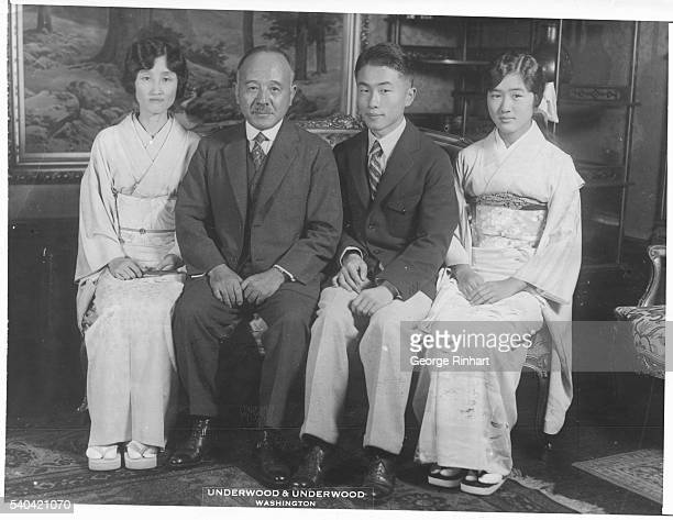 Katsuji Debuchi newly appointed Japanese Ambassador to Washington photographed at the Embassy shortly after his arrival in the American Capitol with...