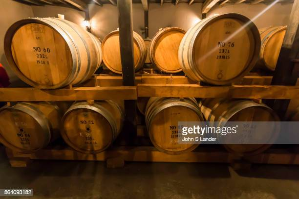 Katsunuma Wine Caves & Barrels - Yamanashi is the birthplace of Japanese wine. A couple of Japanese young men from Katsunuma, Masanari Takano &...