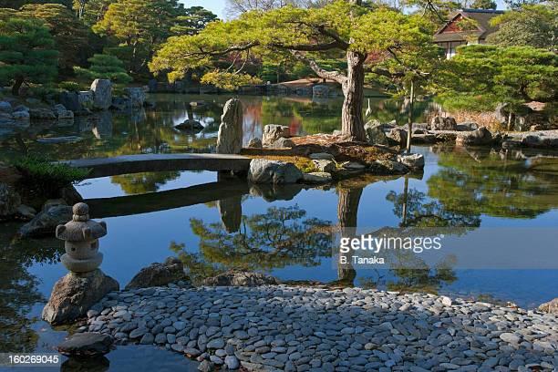 Katsura Imperial Villa Garden in Kyoto, Japan