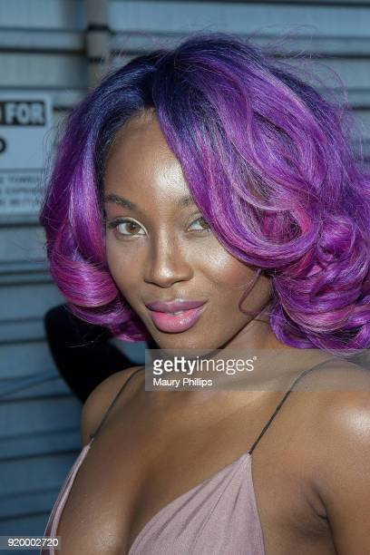 Katsuri attends Couture Against Cancer hosted by Andre Drummond and Angel Brinks on February 17 2018 in Los Angeles California
