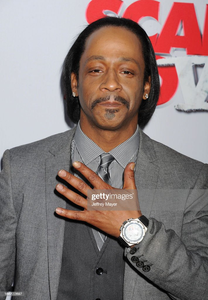 Katt Williams arrives at the 'Scary Movie V' - Los Angeles Premiere at ArcLight Cinemas Cinerama Dome on April 11, 2013 in Hollywood, California.
