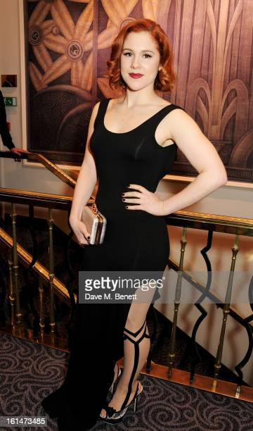 Katy B arrives at the Elle Style Awards at The Savoy Hotel on February 11 2013 in London England