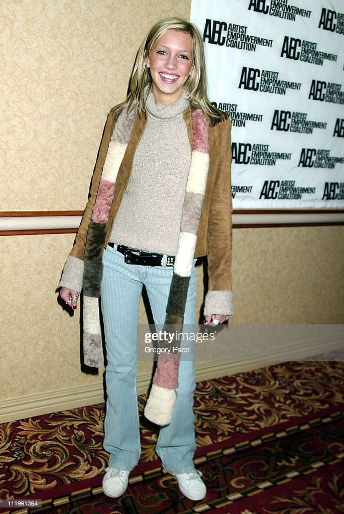 Katy Cassidy,daughter of David Cassidy during Artist Empowerment Coalition Luncheon Honoring the Nominees of the 45 Annual Grammy Awards at New York Hilton Hotel in New York, NY, United States.