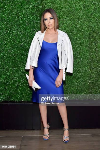 Katy DeGroot attends KKWxMario Dinner at JeanGeorges Beverly Hills on March 31 2018 in Beverly Hills California
