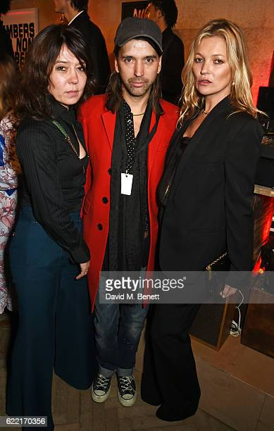 Katy England Alister Mackie and Kate Moss attends the Stella McCartney Menswear launch and Women's Spring 2017 collection presentation at Abbey Road...