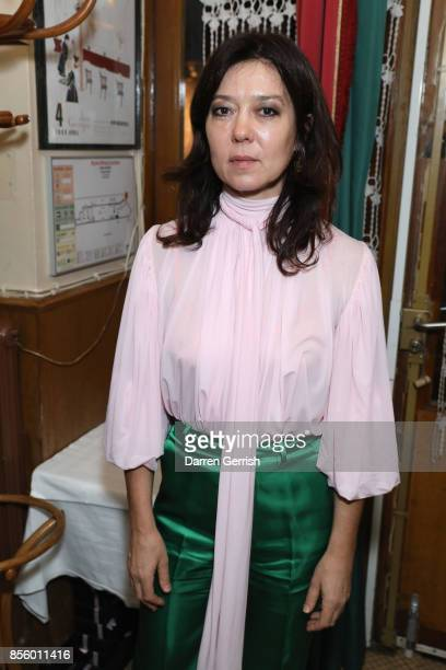 Katy England attends a dinner in Paris to celebrate Another Magazine A/W17 hosted by Vivienne Westwood, Andreas Kronthaler, Jefferson Hack, Susannah...