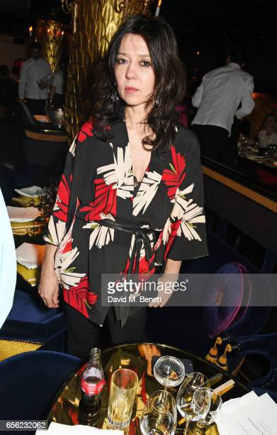 Katy England attends the Another Man Spring/Summer Issue launch dinner in association with Kronaby at Park Chinois on March 21 2017 in London England