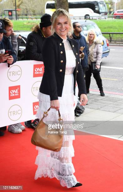Katy Hill attends the TRIC Awards 2020 at The Grosvenor House Hotel on March 10 2020 in London England