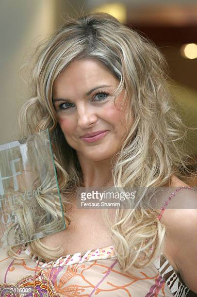 Katy Hill during Head of the Year Awards 2005 at Janet Ginnings Salon in London Great Britain