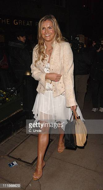 Katy Hill during In Her Shoes London Premiere After Party at Grosvenor House Park Lane in London Great Britain