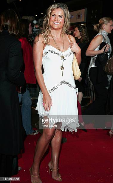Katy Hill during In Her Shoes London Premiere Arrivals at UCI Empire Leicester Square in London Great Britain