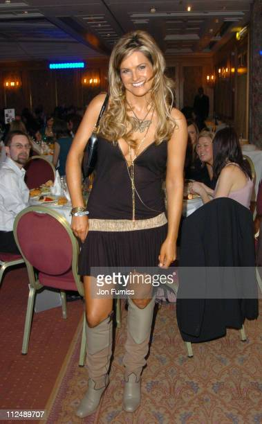 Katy Hill during The 2005 958 Capital FM Awards Show and Awards at The Royal Lancaster Hotel in London United Kingdom