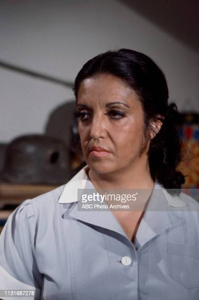 Katy Jurado appearing in the Walt Disney Television via Getty Images tv movie 'A Little Game'