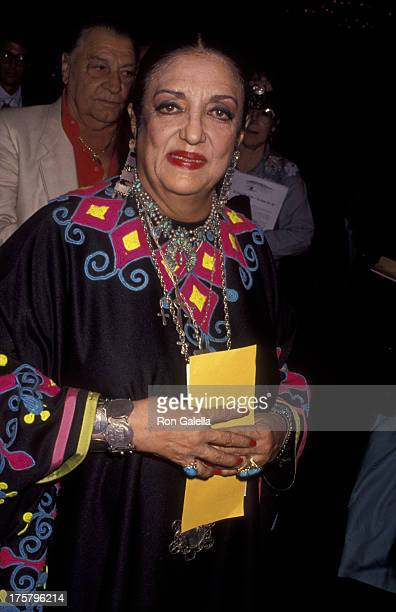 Katy Jurado attends 10th Annual Golden Boot Awards on August 15 1992 at the Century Plaza Hotel in Century City California