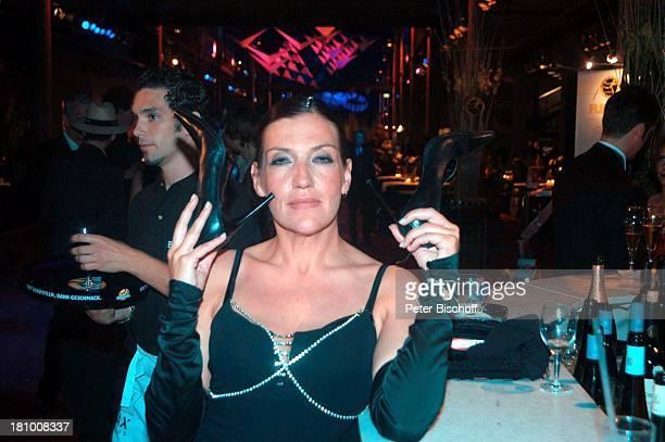 Katy Karrenbauer AftershowParty Verleihung Deutscher Fernsehpreis 2003 Köln Coloneum Bar Party Feier Promis Prominenter Prominente