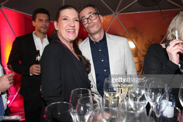 Katy Karrenbauer and Jan Sosniok attend the Berlinale Opening Night by GALA UFA Fiction at Das Stue on February 07 2019 in Berlin Germany