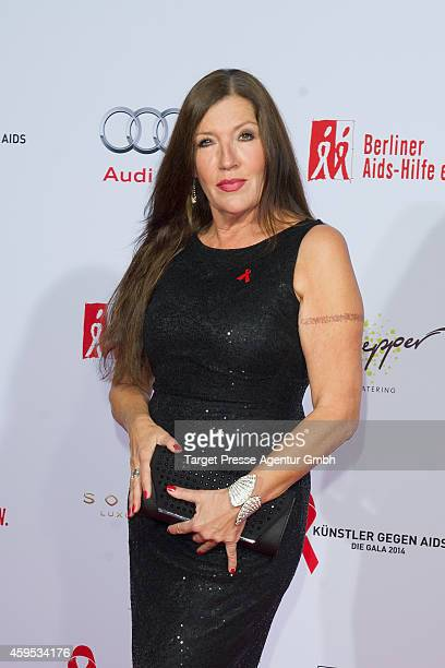 Katy Karrenbauer attends the Artists Against Aids Gala 2014 at Theater des Westens on November 24 2014 in Berlin Germany