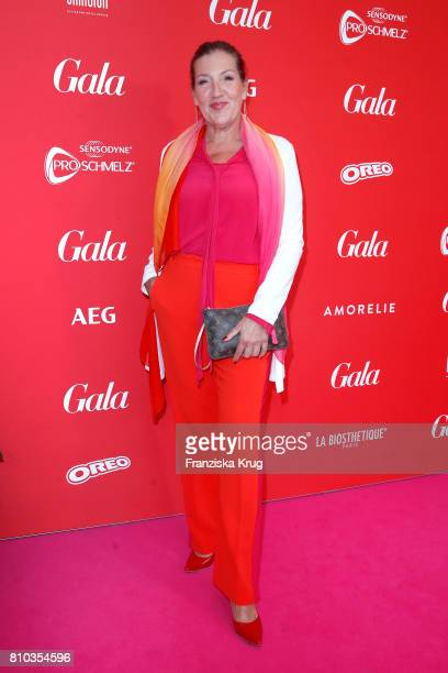 Katy Karrenbauer attends the Gala Fashion Brunch during the MercedesBenz Fashion Week Berlin Spring/Summer 2018 at Ellington Hotel on July 7 2017 in...