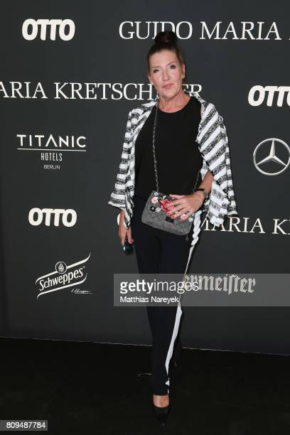 Katy Karrenbauer attends the Guido Maria Kretschmer Fashion Show Autumn/Winter 2017 at Tempodrom on July 5 2017 in Berlin Germany