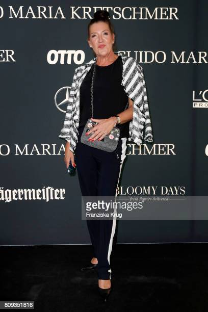 Katy Karrenbauer attends the Guido Maria Kretschmer Fashion Show Autumn/Winter 2017 presented by OTTO at Tempodrom on July 5 2017 in Berlin Germany