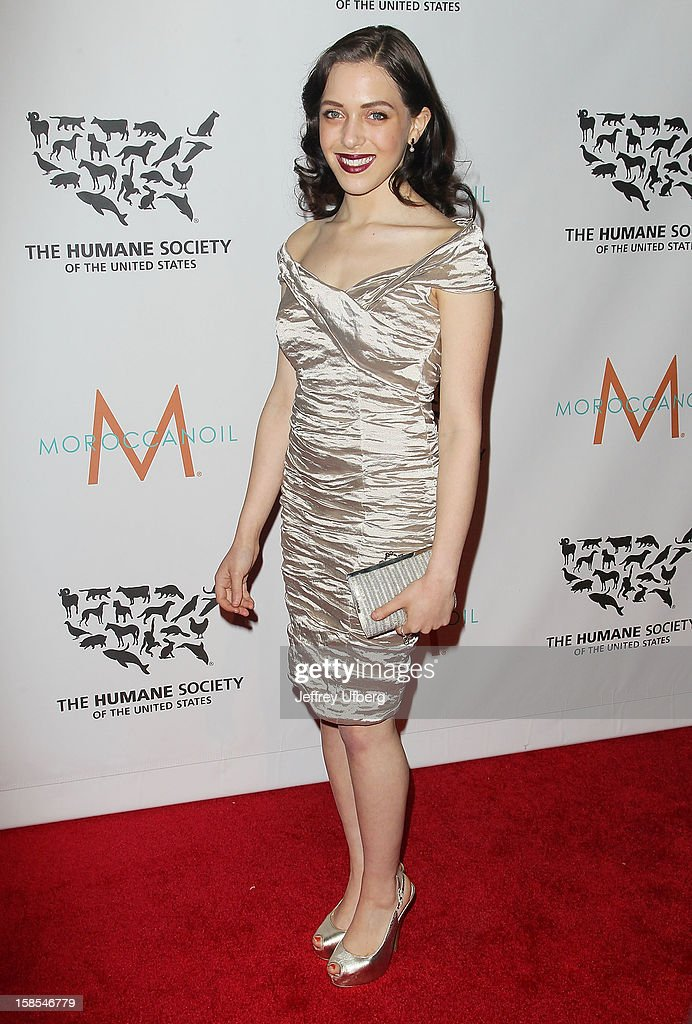 Katy Mayerson attends The Humane Society of the United States presents To The Rescue! gala benefiting post hurricane efforts at Cipriani 42nd Street on December 18, 2012 in New York City.