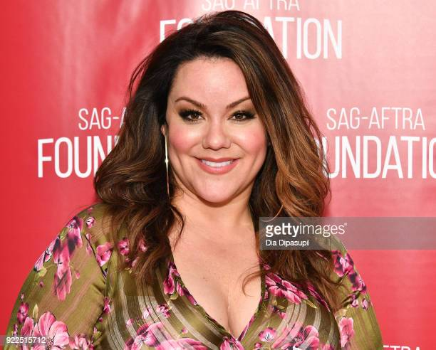 Katy Mixon attends SAGAFTRA Foundation Conversations 'American Housewife' at The Robin Williams Center on February 21 2018 in New York City