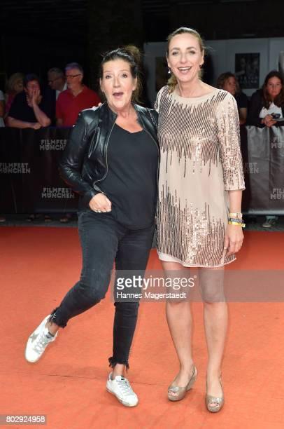 Katy Nina Karrenbauer and Diana Iljine attend the 'Berlin Fallen' Premiere during Munich Film Festival 2017 at Gasteig on June 28 2017 in Munich...