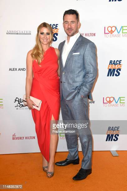 Katy O'Grady and Barry Sloane attend the 26th annual Race to Erase MS on May 10 2019 in Beverly Hills California