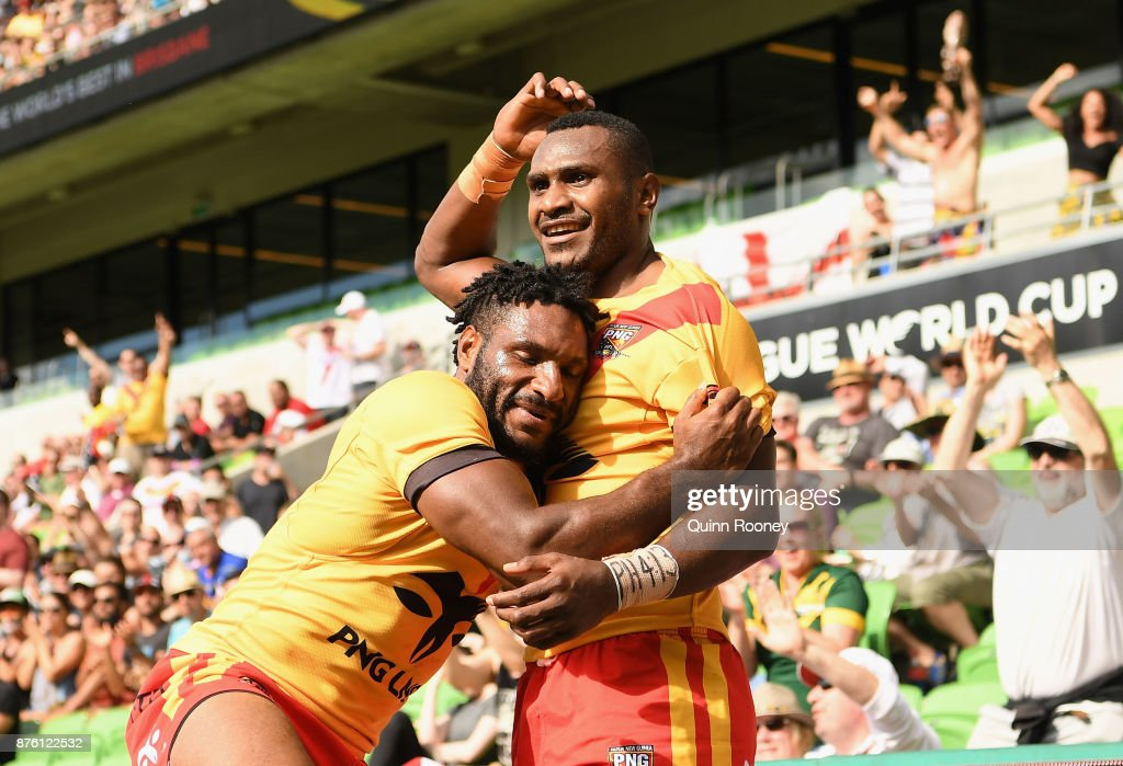 2017 Rugby League World Cup - Quarter Final: England v PNG : News Photo