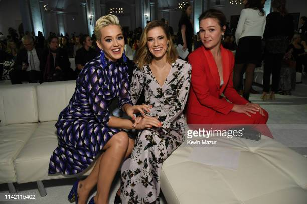 Katy Perry Allison Williams and Julia Stiles attend 10th Annual DVF Awards at Brooklyn Museum on April 11 2019 in New York City