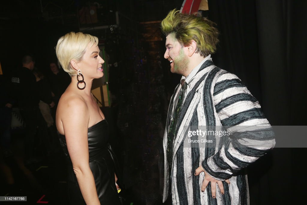 Katy Perry and Alex Brightman as