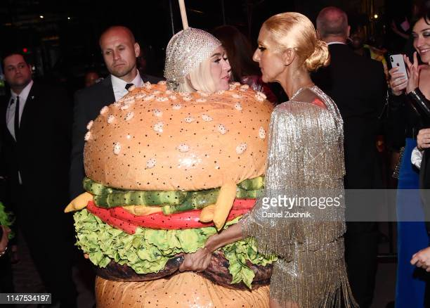 Katy Perry and Celine Dion attend the 2019 Met Gala Boom Boom Afterparty at The Standard hotel on May 06 2019 in New York City