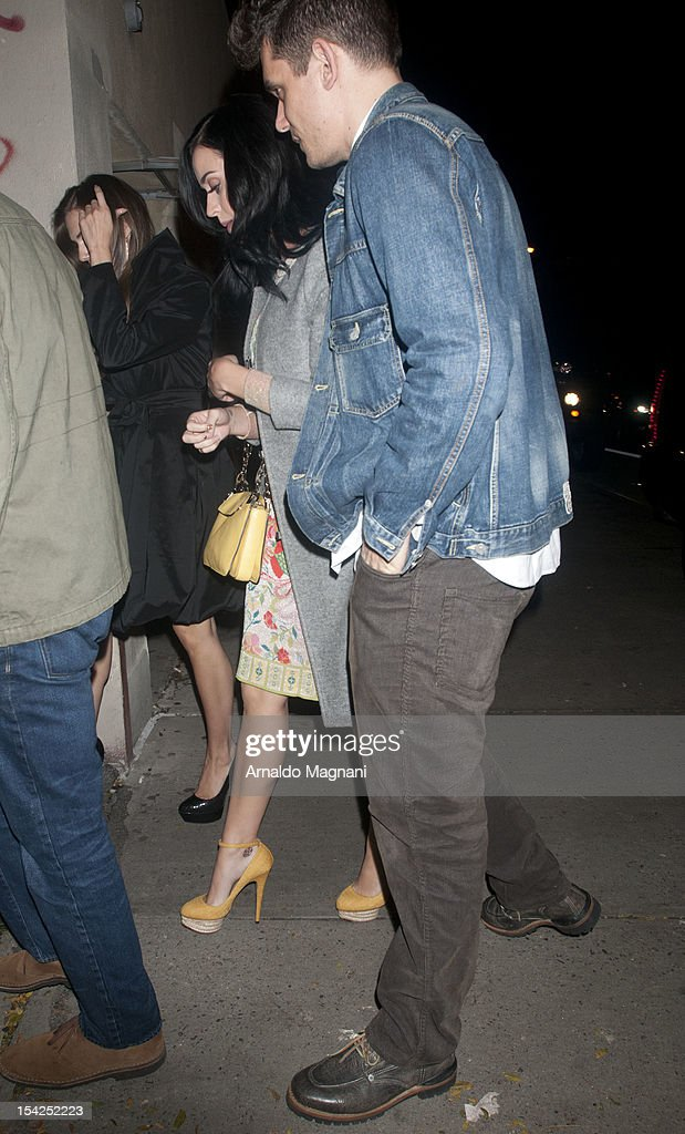 Katy Perry and John Mayer sighting on October 16, 2012 in New York City.