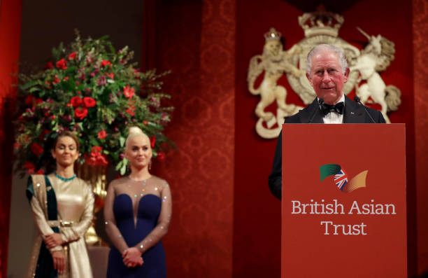 GBR: The Prince Of Wales And Duchess Of Cornwall Attend A Reception To Celebrate The British Asian Trust