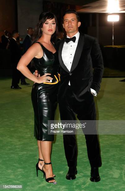 Katy Perry and Orlando Bloom attend The Academy Museum of Motion Pictures Opening Gala at The Academy Museum of Motion Pictures on September 25, 2021...