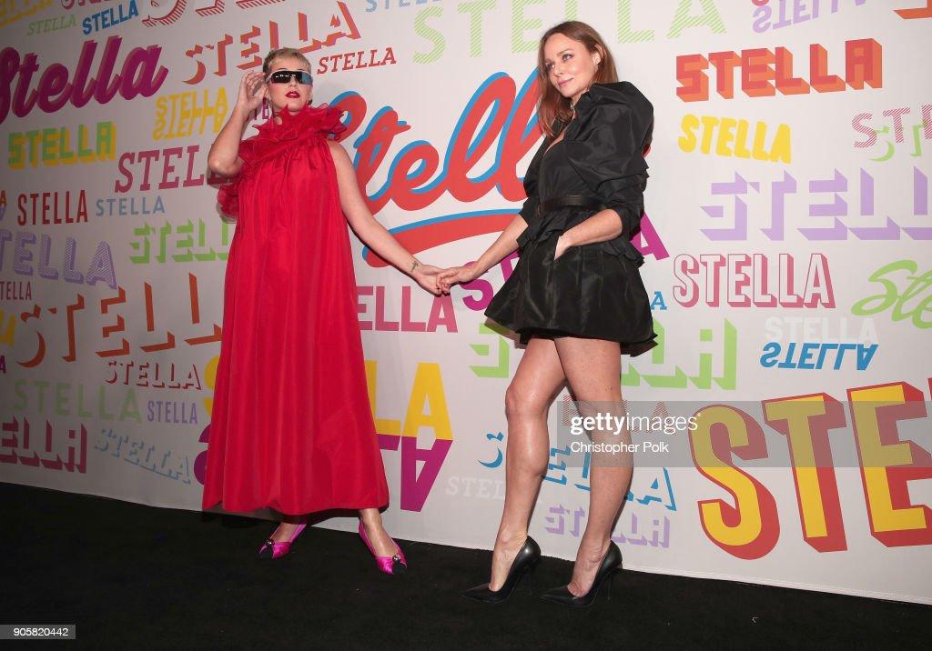 Stars hit Stella McCartney's autumn 2018 collection launch