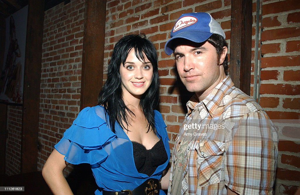 Katy Perry and Tom Anderson, President of MySpace.com