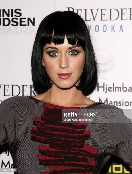 Katy Perry arrives at Bondi Blonde's Style Mansion Hosted By Katy Perry at the Style Mansion International on February 9, 2009 in Beverly Hills,...
