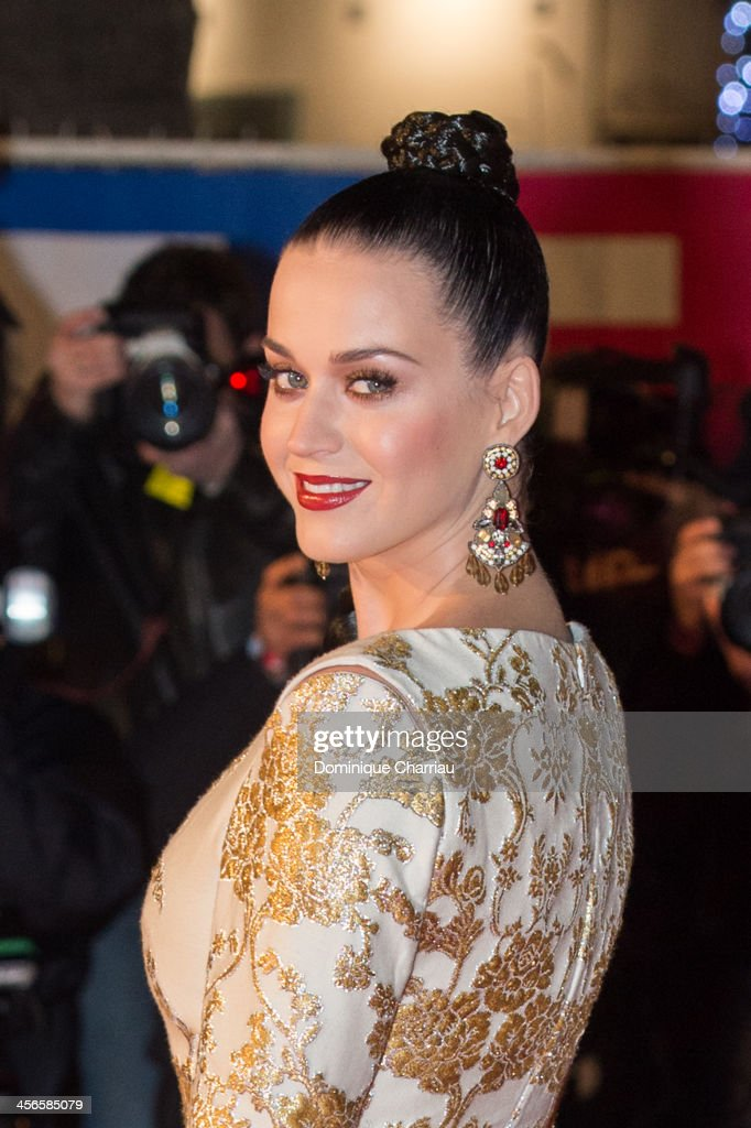 Katy Perry arrives at the 15th NRJ Music Awards at Palais des Festivals on December 14, 2013 in Cannes, France.