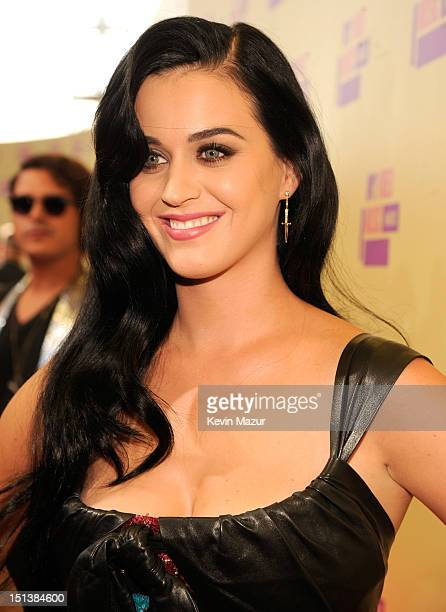 Katy Perry arrives at the 2012 MTV Video Music Awards at Staples Center on September 6 2012 in Los Angeles California