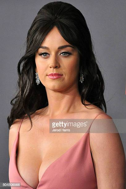 Katy Perry arrives at the 2016 Weinstein Company and Netflix Golden Globes After Party on January 10 2016 in Los Angeles California