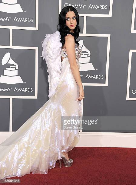Katy Perry arrives at The 53rd Annual GRAMMY Awards at Staples Center on February 13 2011 in Los Angeles California