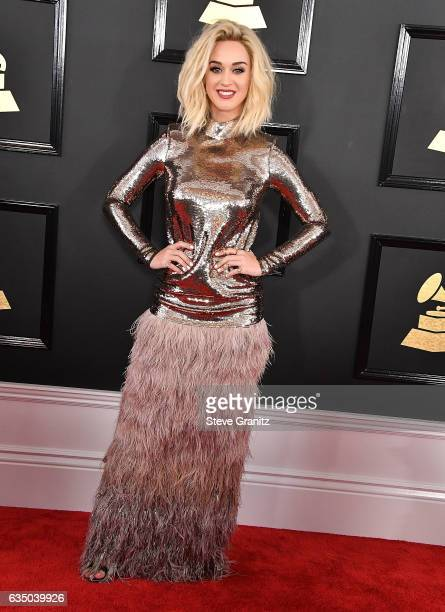 Katy Perry arrives at the 59th GRAMMY Awards on February 12 2017 in Los Angeles California