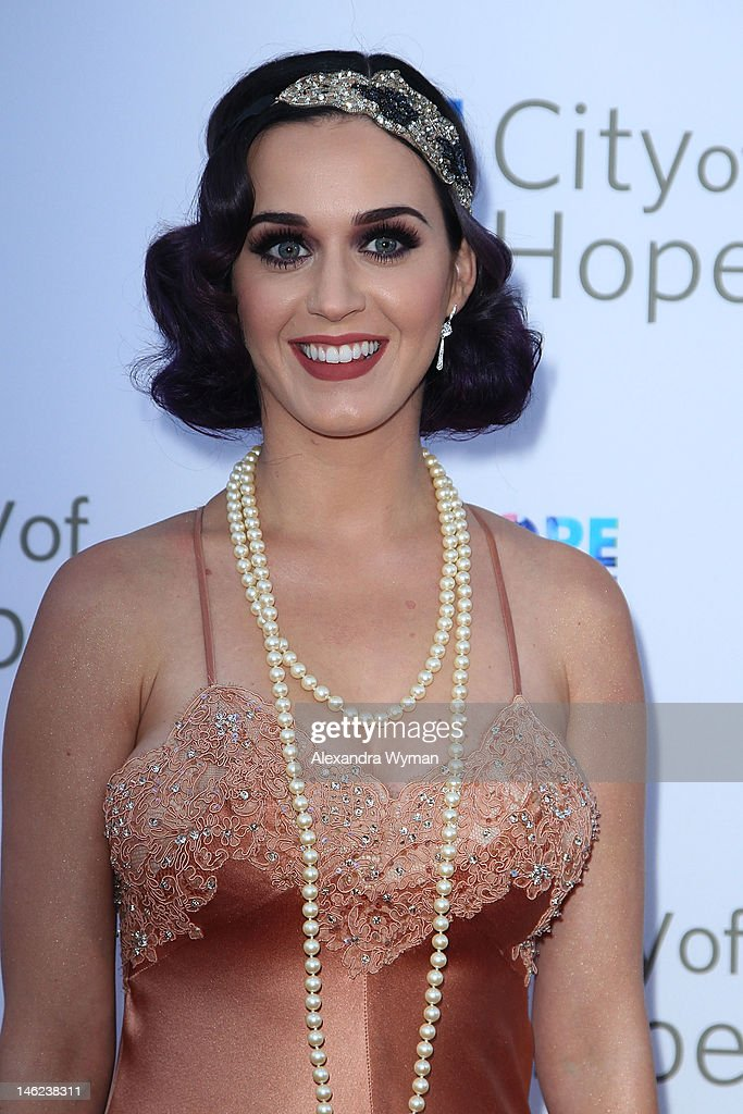 Katy Perry arrives at The City Of Hope's Music and Entertainment Industry Group Honoring Bob Pittman at The Geffen Contemporary at MOCA on June 12, 2012 in Los Angeles, California.