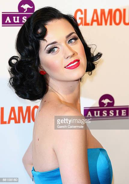 Katy Perry arrives at the Glamour Women of the Year Awards 2009 at Berkeley Square Gardens on June 2, 2009 in London, England.