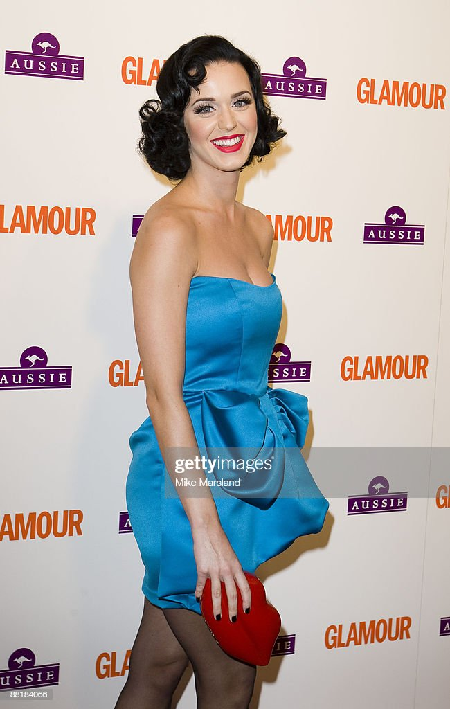 Katy Perry arrives at the Glamour Women of the Year Awards 2009 at the Berkeley Square Gardens on June 2nd, 2009 in London, England.