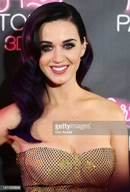 Katy Perry arrives at the Katy Perry Part Of Me Australian Premiere on June 30 2012 in Sydney Australia