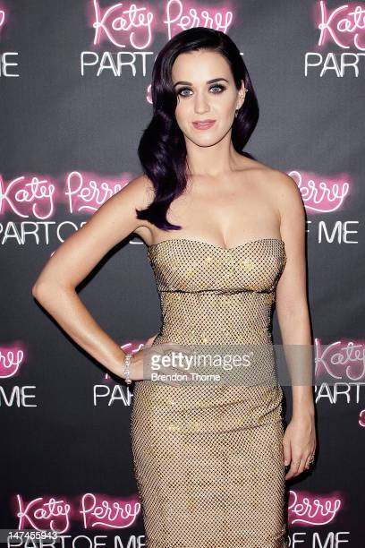 Katy Perry arrives at the 'Katy Perry Part Of Me' Australian Premiere on June 30 2012 in Sydney Australia
